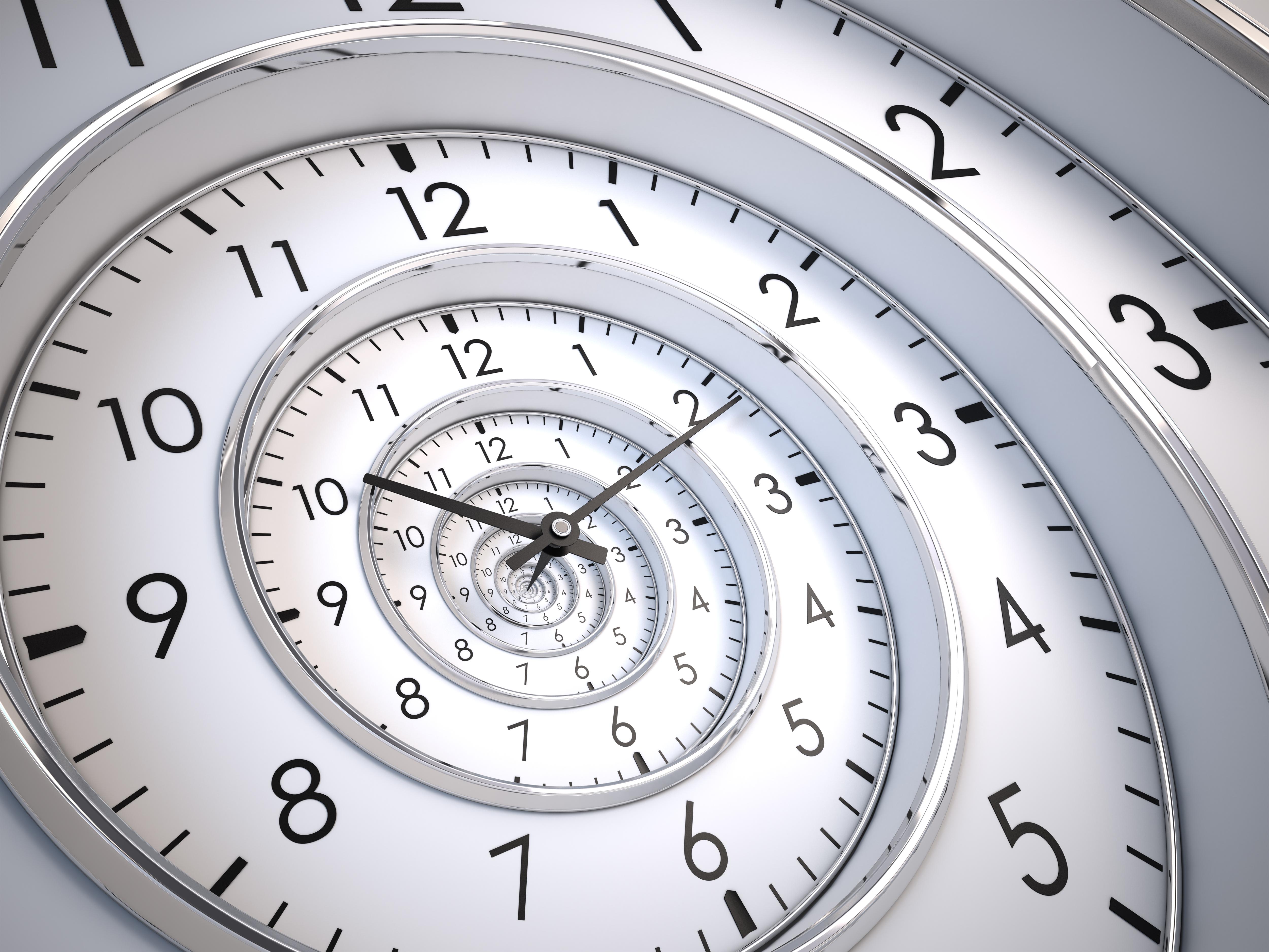 Infinity Time Spiral © Sashkin7, depositphotos
